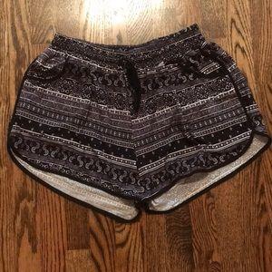 Cotton printed shorts size medium